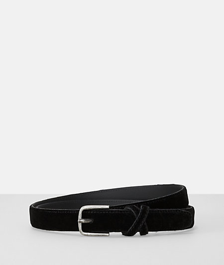 Belt in a velvet look from liebeskind