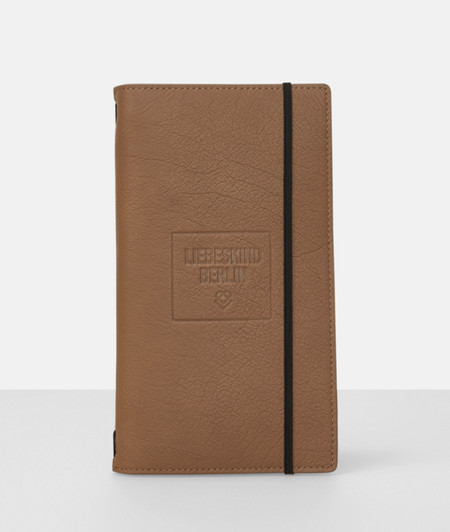 2018 calender with leather cover from liebeskind