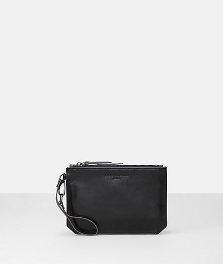 Clutch bag with a strap from liebeskind