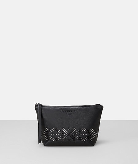 Make-up bag with studs from liebeskind