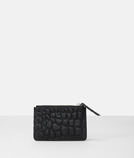 Key pouch in a reptile look from liebeskind