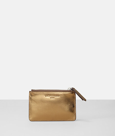 Metallic key pouch from liebeskind