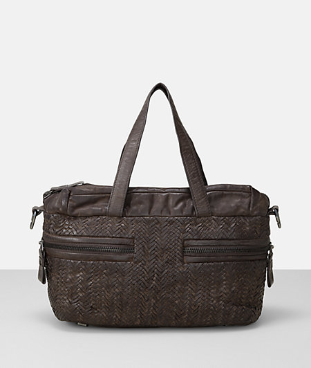 Handbag with braided insert from liebeskind