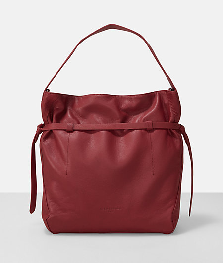Shoulder bag with a leather strap from liebeskind