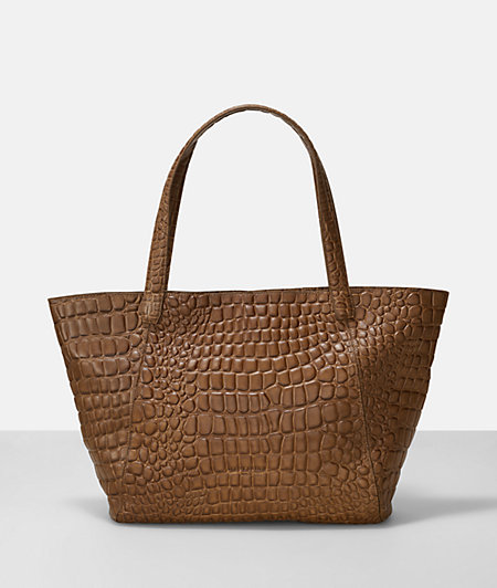 Shopping Bag mit Reptilmuster