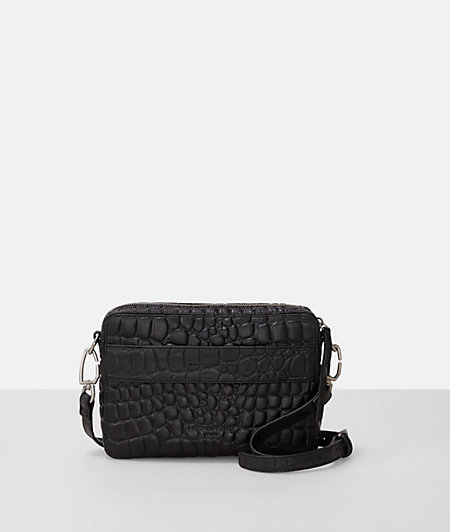 Shoulder bag in a reptile look from liebeskind