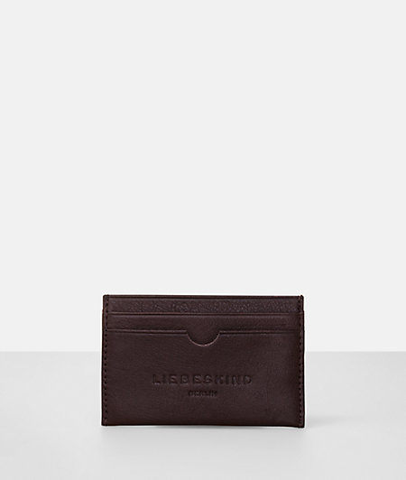 Card holder with label embossing from liebeskind