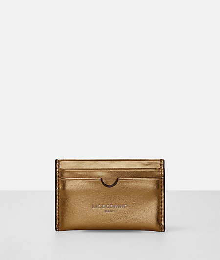 Metallic credit card pouch from liebeskind
