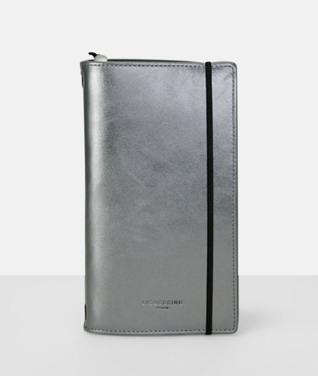 Shiny leather calendar from liebeskind