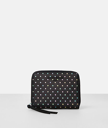 Purse with a star print from liebeskind