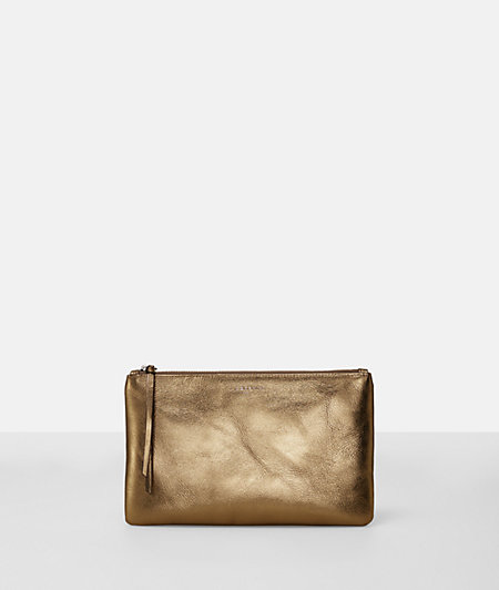Make-up bag with contrasting lining from liebeskind