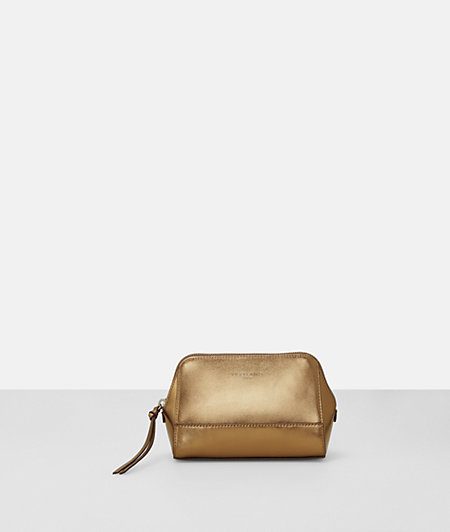Shiny make-up bag from liebeskind