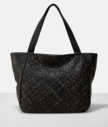 Handbag with a braided pattern from liebeskind