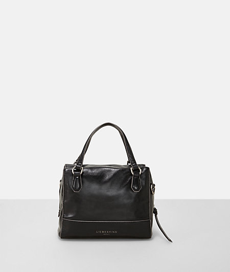 Metallic-look handbag from liebeskind