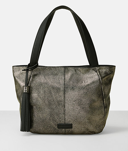 Handbag with a metallic effect from liebeskind