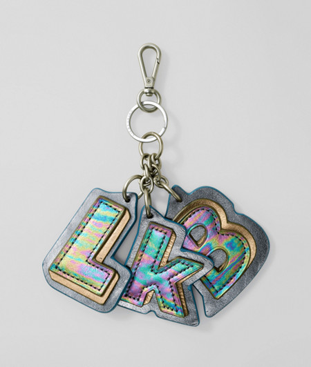 Label key ring from liebeskind