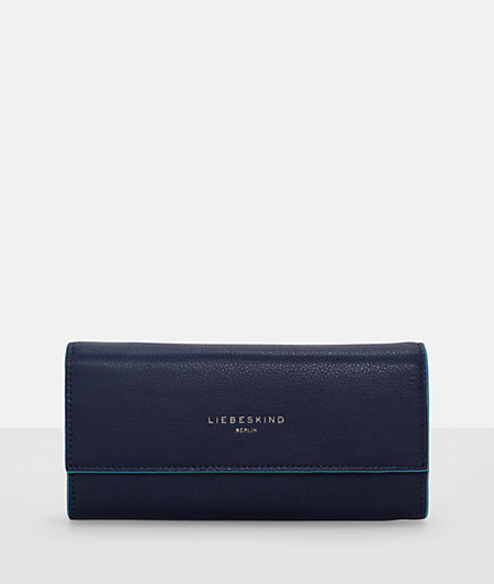 Purse in textured leather from liebeskind