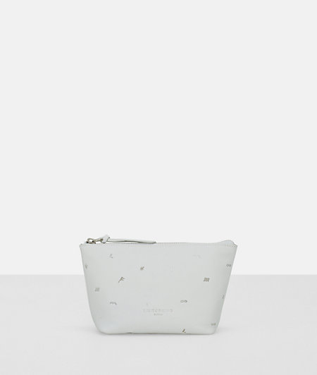 Cosmetics bag with an embroidered pattern from liebeskind