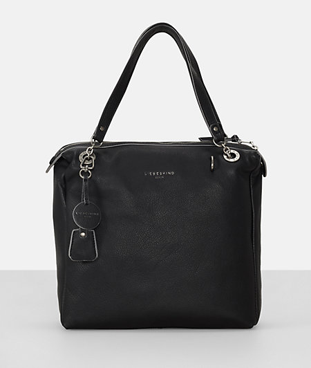 Shopper bag with key ring tag from liebeskind