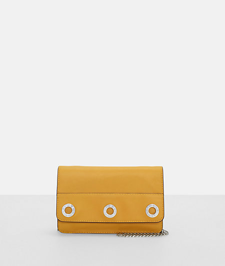 Clutch with decorative eyelets from liebeskind