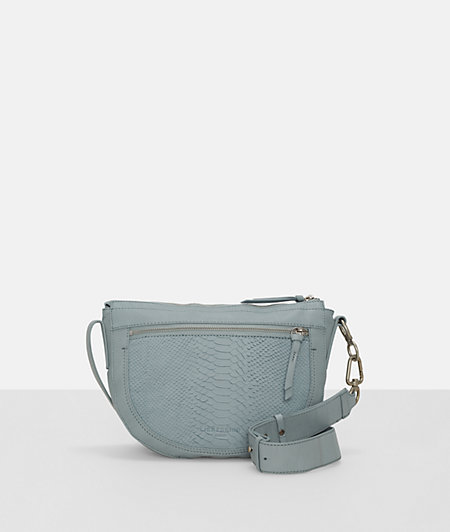 Shoulder bag with embossed python from liebeskind