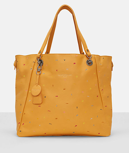 Shopper bag with bright embroidery from liebeskind