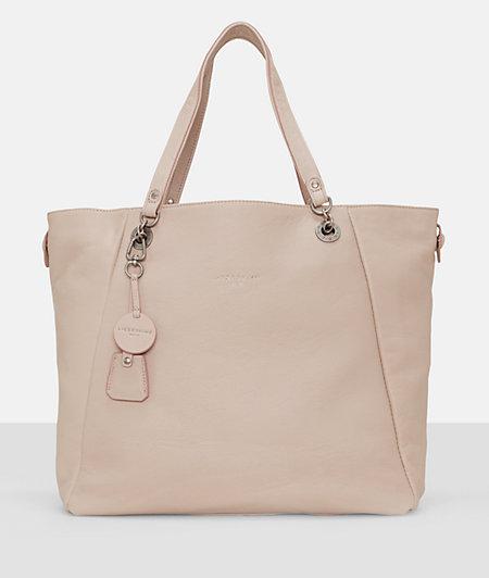 Shopper bag in soft vintage leather from liebeskind