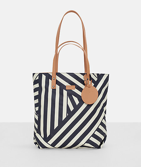 Shopper bag with a make-up mirror from liebeskind