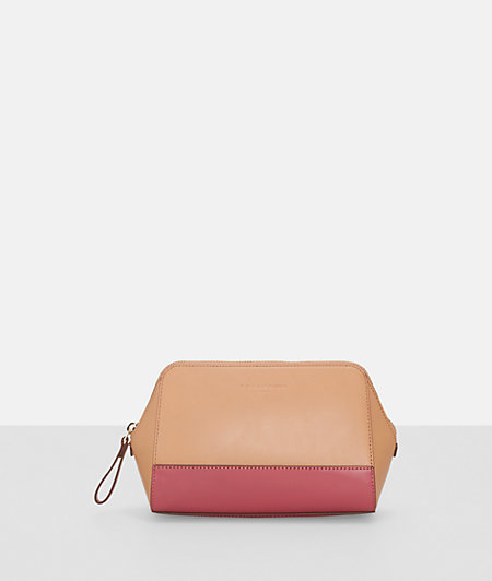 Make-up bag in a two-tone design from liebeskind