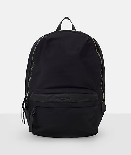 Rucksack aus Nylon und Leder
