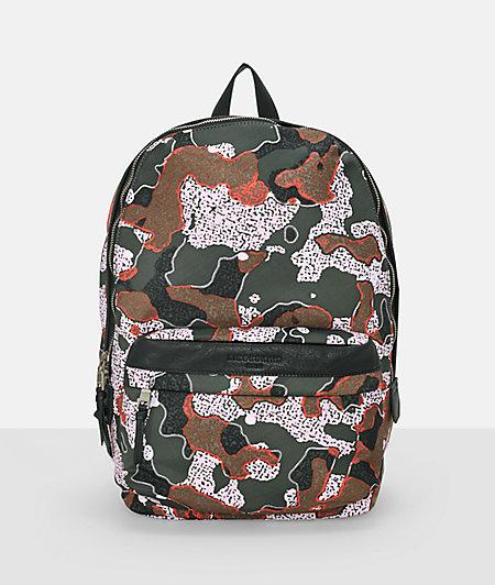 Camouflage rucksack from liebeskind