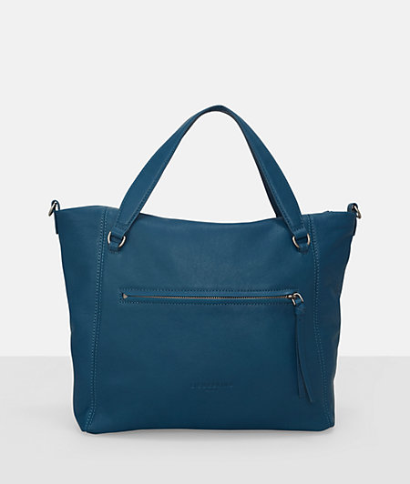 Tote bag with small embossed logo from liebeskind