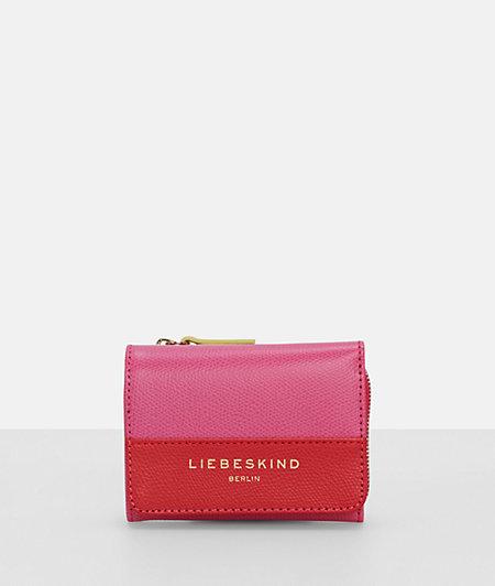 Portemonnaie mit Colorblocking