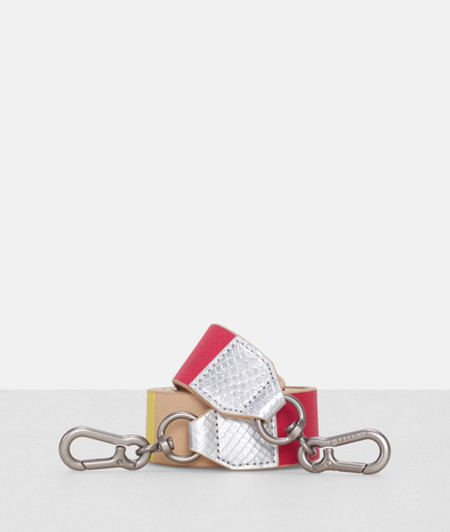 Shoulder strap in a patchwork look from liebeskind
