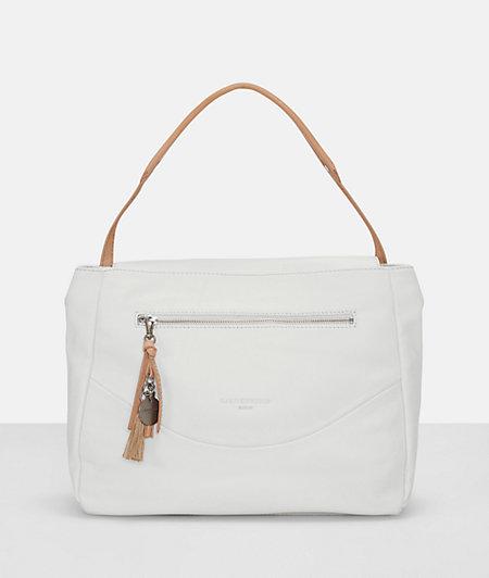 Shoulder bag with a tassel pendant from liebeskind