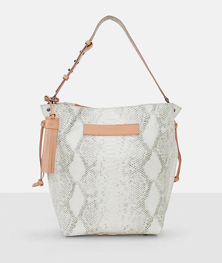 Shopper bag in a snakeskin design from liebeskind