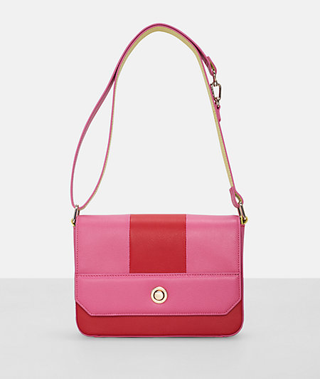 Shoulder bag in a colour block look from liebeskind