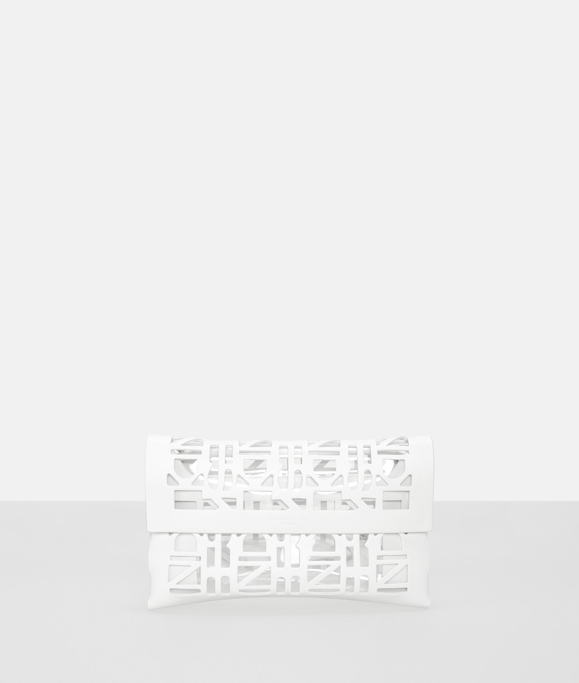 liebeskind berlin - Tasche 2D3D Clutch S, Weiß
