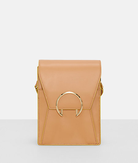 Cross-body bag with a large ring fastening from liebeskind