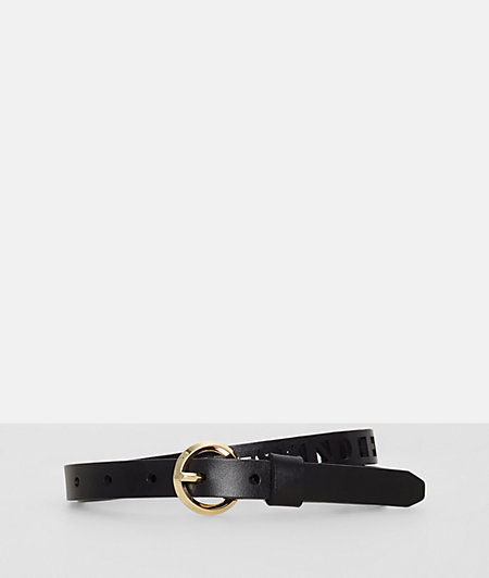 Belt with label cut-outs from liebeskind