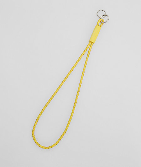 Braided key ring from liebeskind