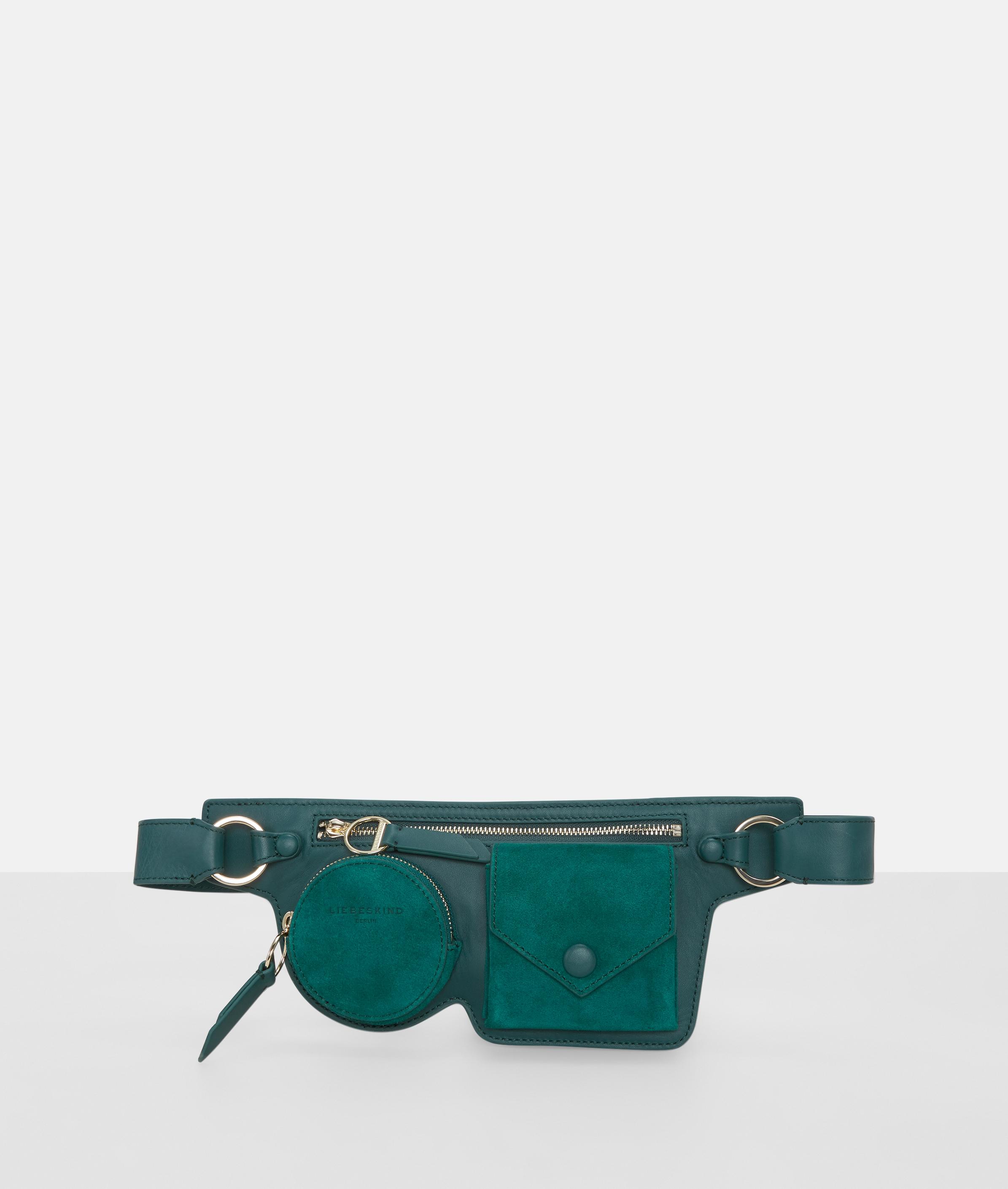 liebeskind berlin - Gürteltasche mit Fronttaschen, Grün