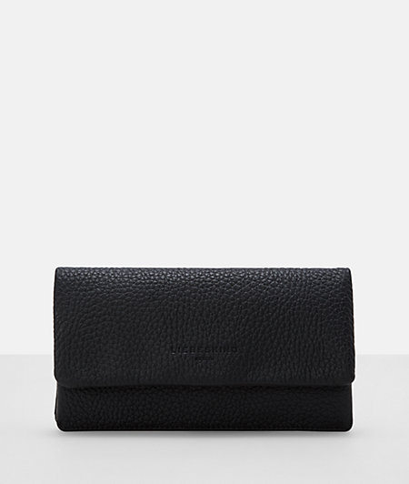 Coarse-grained leather purse from liebeskind