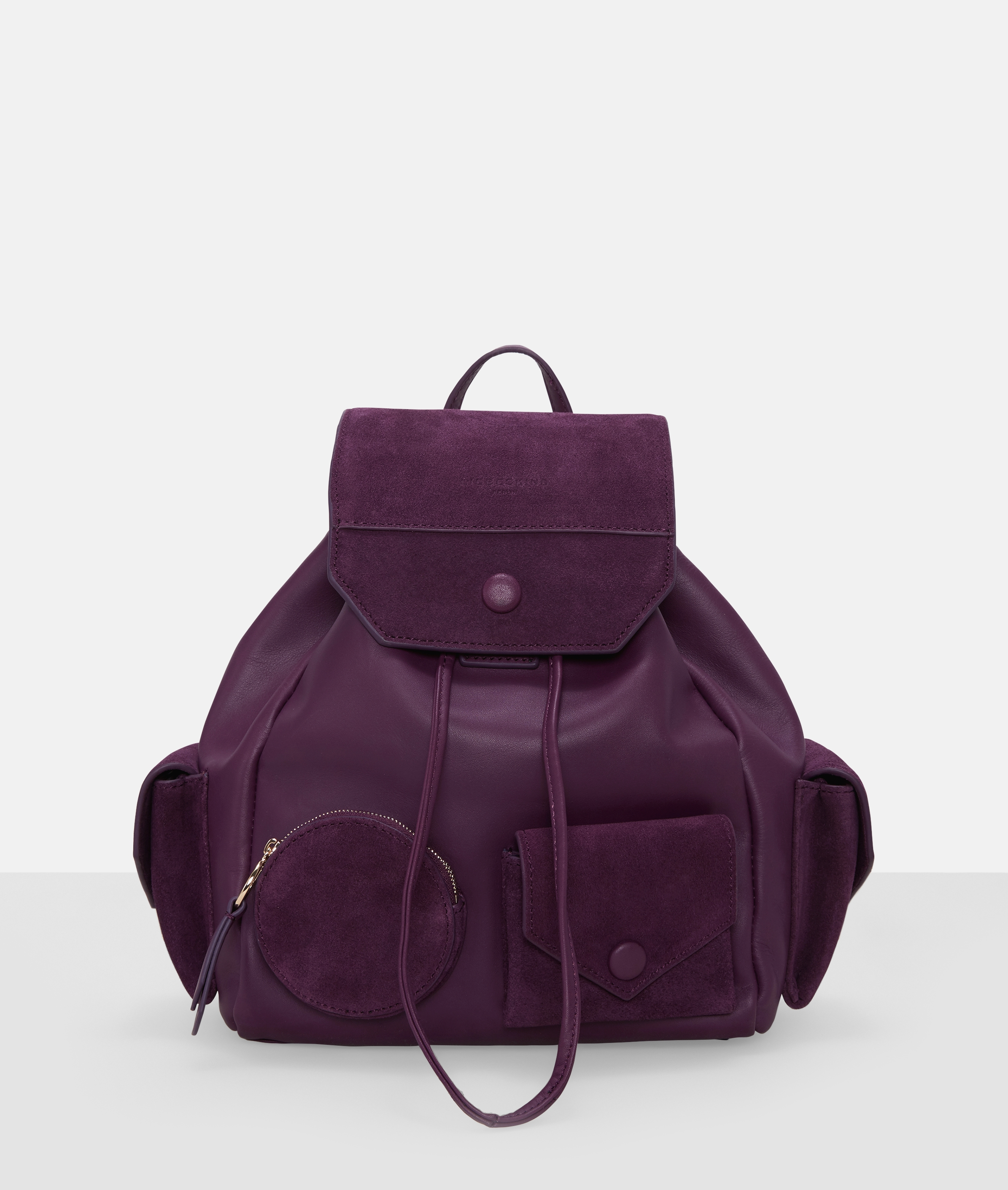 Berlin Tasche Casual Pocket Backpack M, Pink