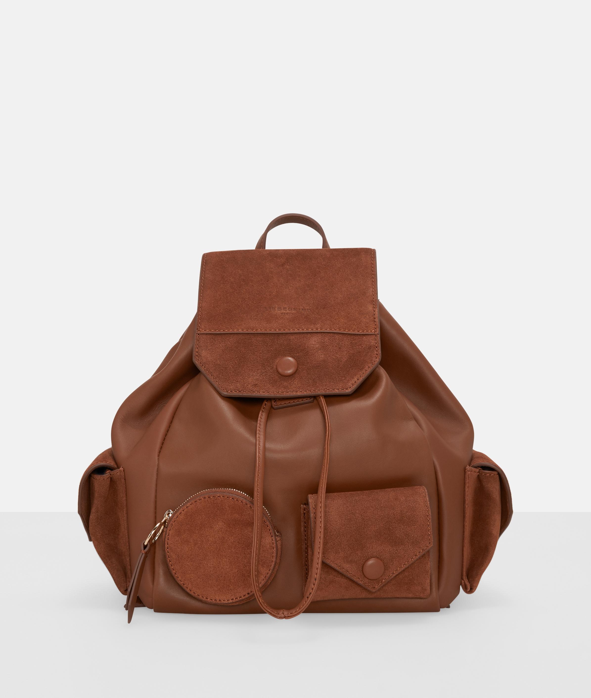 Berlin Tasche Casual Pocket Backpack M, Braun