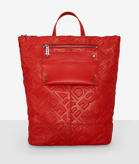 Rucksack with embossing from liebeskind