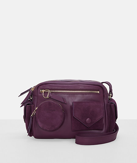 Umhängetasche mit Front- und Seitentaschen