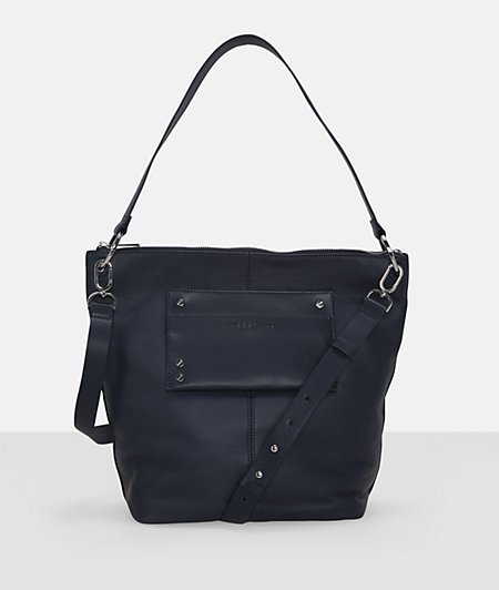 Hobo bag with an extra pocket from liebeskind