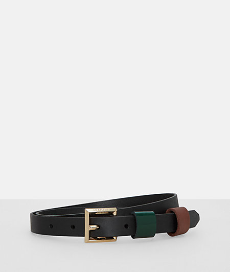 Belt with a metal pin buckle from liebeskind