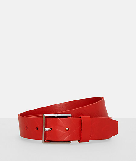 Belt with all-over logo embossing from liebeskind